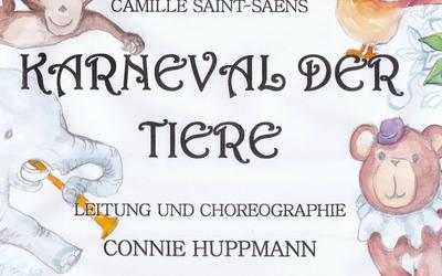 Karneval der Tiere am 12. Mai 2017, 17 Uhr der Ballettschule GYM Tittmoning